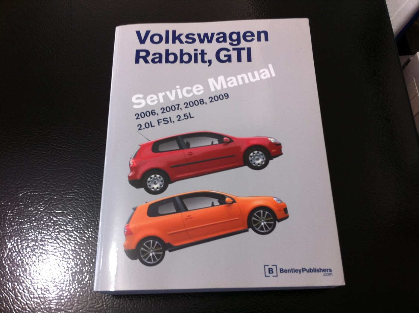 SOLD $50 Bentley Service Manual for VW Rabbit, GTI 2006-2009