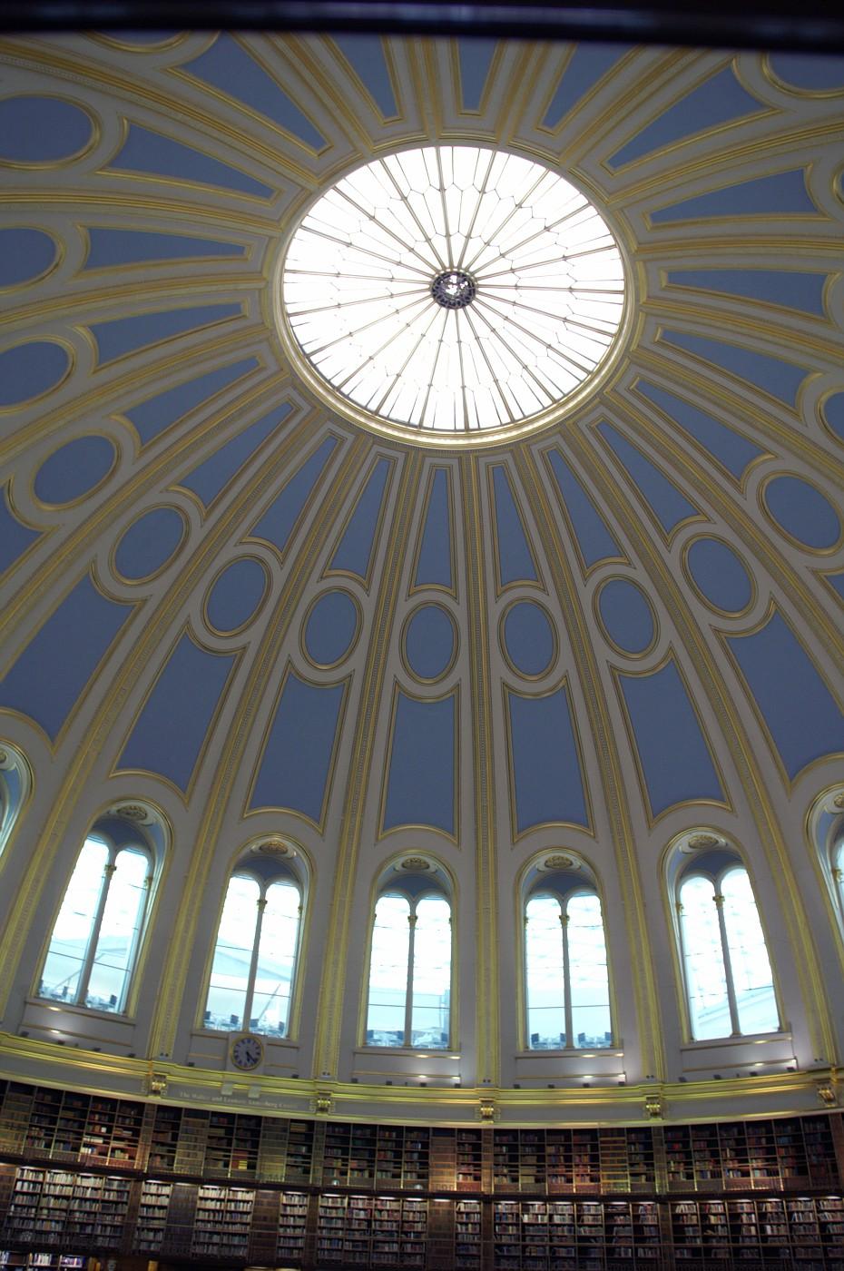 British Museum, The circular Reading Room.