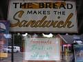bread makes the sandwich