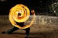 Behind the Fire Spiral