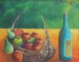 """Nature morte 11"""" x 14""""  Huile sur canvas"""