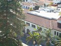 View from the tower of the court building in Santa Barbara.