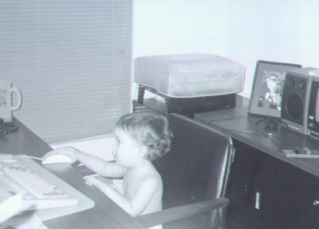 Young Computer Wizard