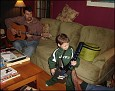 Matthew rocks with his uncle
