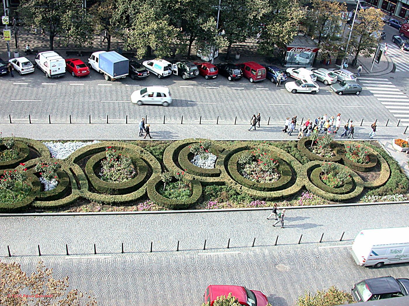 Wenceslas Sq gardens 1