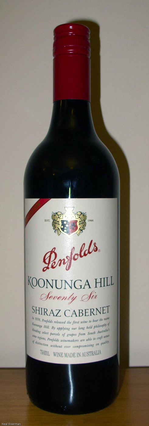 Penfolds Koonunga Hill Seventy Six 2008