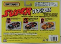 1992Matchbox SuperStockers-28-DaveyAllison-Back