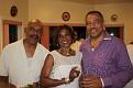 Une agréable soirée chez Chou et Mario. Joe Louis, Carole et Mario.