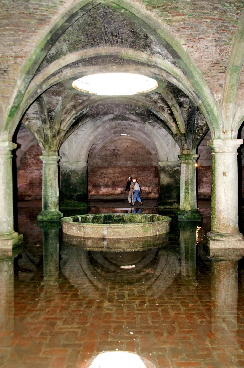 Al-Dżadida - podziemna cysterna