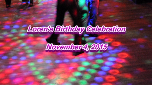 Loren Gardner's Birthday Celebration 2015 at Michael's Cafe