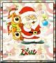 Santa with friendsTaBlue