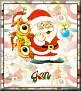 Santa with friendsTaJan