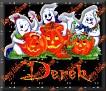 3 Ghosts & pumpkinDerek