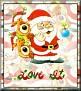 Santa with friendsTaLove It