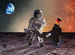 By bike you can go everywhere! ;-)