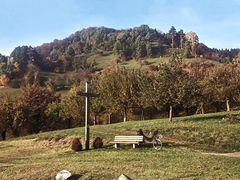 Pause in den Hügeln