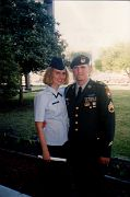 Shannon and Chris at her USAF Graduation