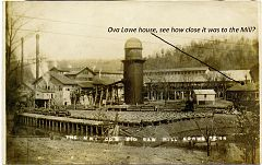 New River Mill at Norma-See Ova Lowe House
