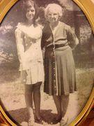 Elizabeth Washam and her grandma???