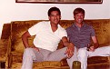 SFC Otero and me at his house (1980-1984).