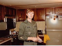 E. Ray Austin, about 1979, Fort Campbell, KY