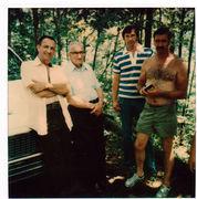 Kenneth, Luke (dad), Billy, Lee Austin