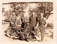 """137 - Walter H. """"Walt"""" Williams, 2nd from left."""