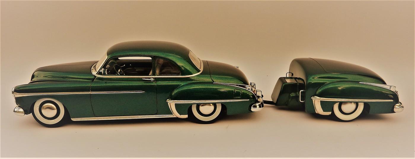 Projet Oldsmobile 50 avec remorque assortie terminé Photo22-vi