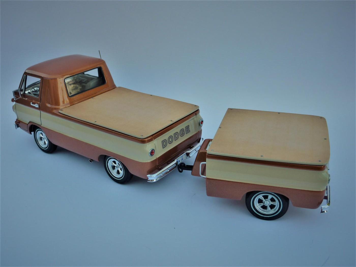 Dodge A 100 pickup avec remorque terminé Photo14-vi