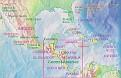 Central America Map Focus cp