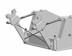 Tractor mount detail