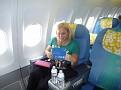 Honeymoon Bora Bora - Air Tahiti Nui Flight From LAX to Papeete (1)