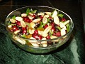 salad salary with dry fruits and nuts