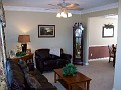 living room from front entrance