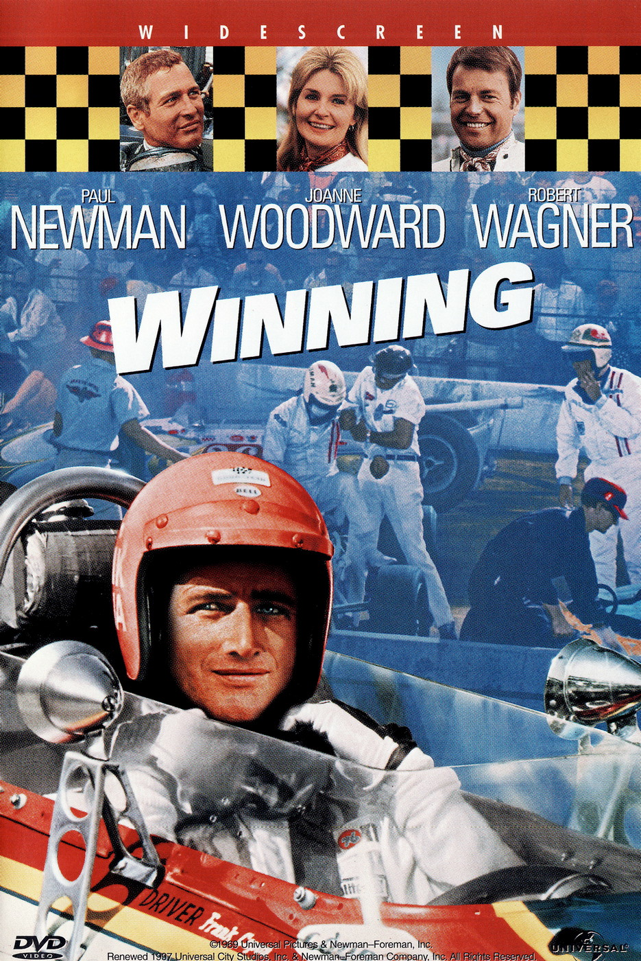 "DVD ""Winning"" TheMovie 1969"
