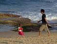 Walking on the beach 005