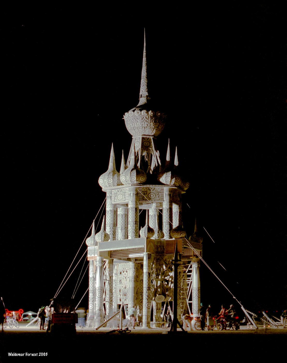 Temple of Honor at Night