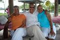 Yolle Denerville, Bubu & Rosemarie Barnett.