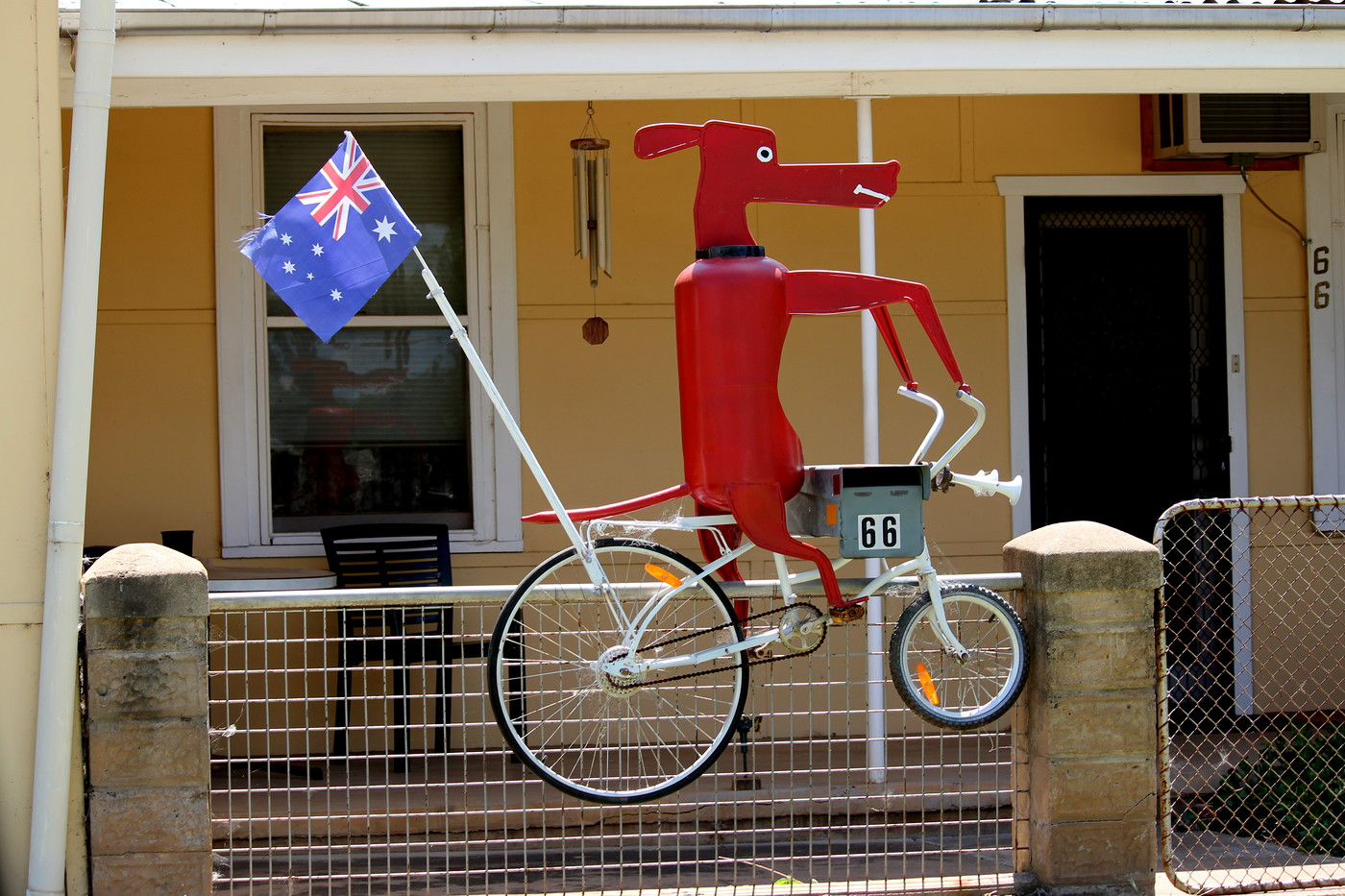Animals on Bikes 037B Go Dog Go by Andy Kerr