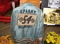 My Uncle Sparky's jacket - on display at the NERA gathering.