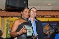Yvette Leroy recipient of certificate