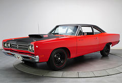 1969 Plymouth Road Runner 440+6 Coupe
