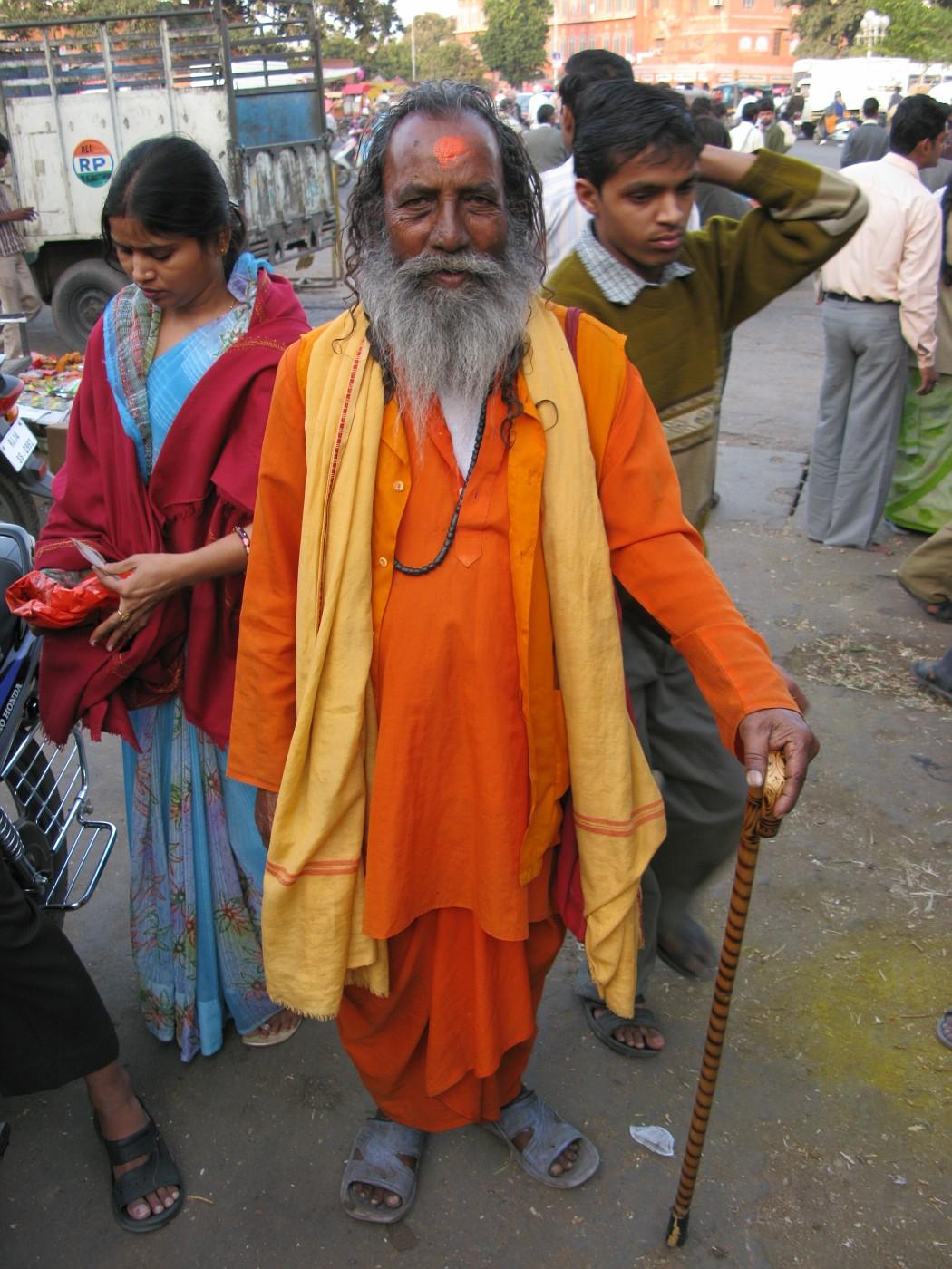 Jaipur, India Market and Street Life (41)