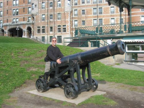 GaryGS1 and the Cannon.