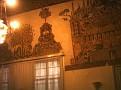 Beyazıt-ı Bestami camii türbe duvar resimleri