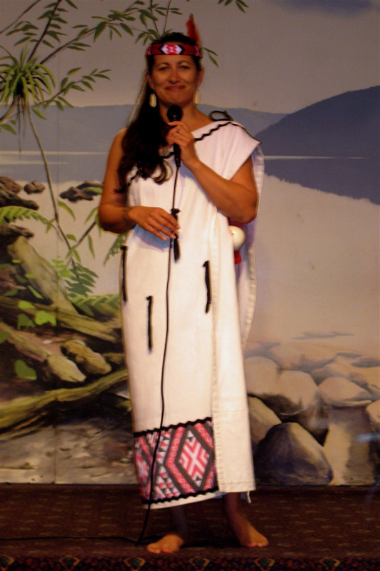 Maori at Haka ceremony