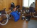 Räder im Sportheim