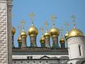 Moscow, Kremlin - domes on the church