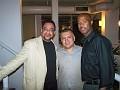 Haitian consul Ralph Latortue, Many Gonzalez, Gamal Jolicoeur.