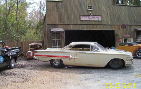 Impala Drag Car